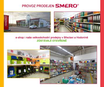 E-shop a velkoobchodní prodejny otevřené