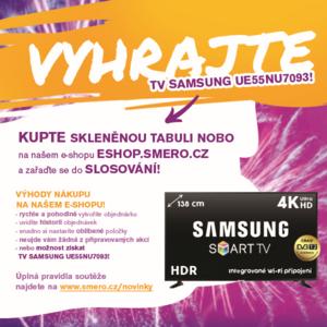 Vyhrajte TV Samsung s tabulemi Nobo
