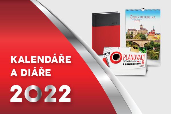 Kalendáře a diáře 2022