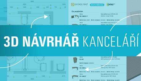 3D NÁVRHÁŘ KANCELÁŘÍ