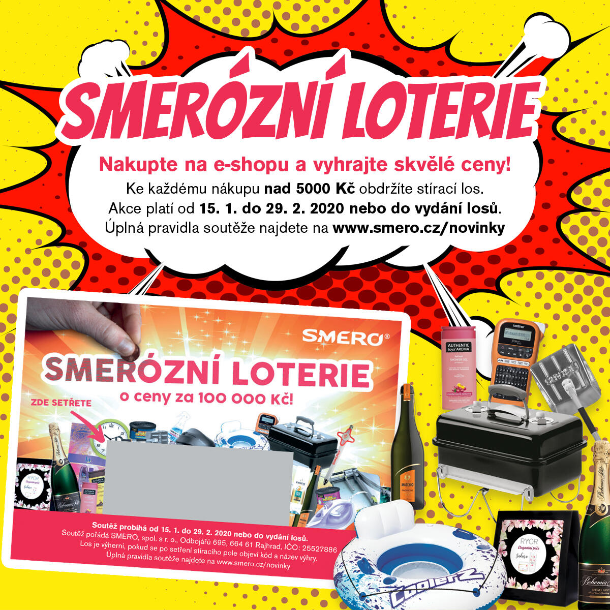 Smerózní loterie inside
